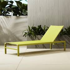 Aluminum Chaise Lounge Minimal Black Outdoor Chaise Lounge