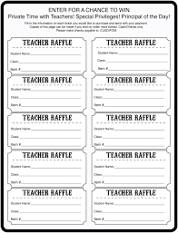 raffle tickets special time with raffle tickets