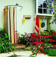 Outdoor Shower Curtains 32 Beautiful Diy Outdoor Shower Ideas For The Best Summer