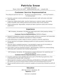resume objective exles entry level retail jobs customer service representative resume sle monster com