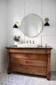 Wood Bathroom Vanity by Becki Owens 20 Beautiful Bathroom Vanities We U0027ve Gathered