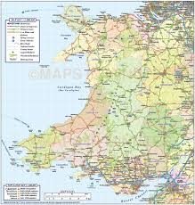Germany Rail Map by Wales 1st Level County Road U0026 Rail Map 1m Scale In Illustrator