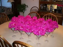 party centerpieces fuschia wedding centerpiece party centerpieces 2492319 top