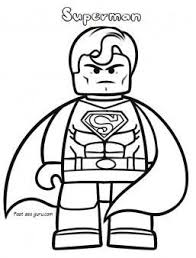 Superheroes Free Print Out Characters The Lego Movie Superman Superman Coloring Pages Print