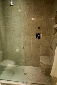 bathroom marble layers corner shaped walkin walk in for s walk