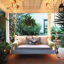 Front Porch Patio Furniture by Best 25 Porch Swing Beds Ideas On Pinterest Porch Bed Hanging