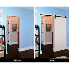 Sliding Barn Door Room Divider by Modern Sliding Barn Door Non Warping Patented Honeycomb Panels