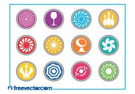 round logo free vector art 8102 free downloads
