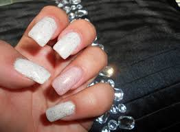 pink and white nails fmag com