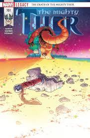 all star reviews mighty thor 701 comics amino