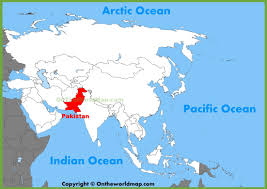world map pakistan karachi pakistan location on the world map in of utlr me