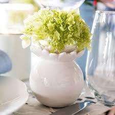 Personalized Flower Vases White Ceramic Flower Vase The Knot Shop