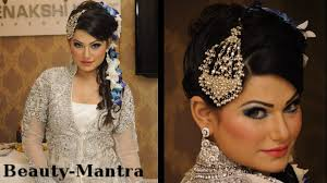 bridal hairstyle pics wedding makeup for white dress makeup plus hairstyle youtube