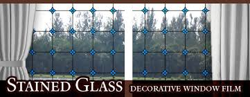 Decorative Window Film Stained Glass Stained Glass Window Film Decorative And Privacy Stained Glass