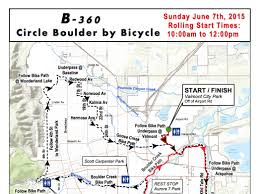 Boulder Zip Code Map by Circle Boulder By Bicycle On June 7