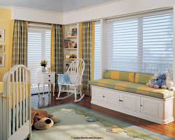 Nursery Blinds And Curtains by Inviting Creative Bay Window Seat Decoration Exposed Blind Window