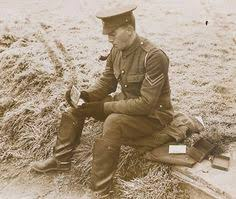 british and german troops mingle at ploegsteert wood in flanders