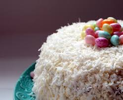 lindaraxa happy easter coconut cake