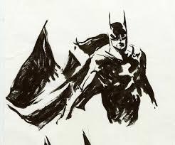 original batman movie licensing art batman drawings u2014 george pratt