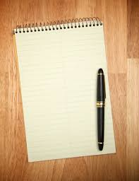 blank paper to write on paper pencil pen the blank page