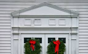 Exterior Door Pediment And Pilasters by Timslife Com A Pediment Rises From The Roof
