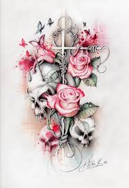 idea i like roses as a so i would replace them
