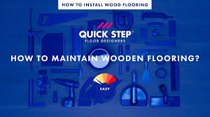 how to maintain wood flooring tutorial by