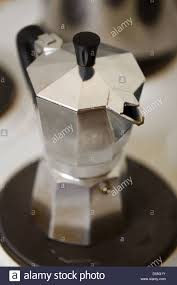 espresso maker bialetti berlin germany italian espresso maker bialetti stock photo