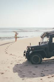 beach jeep surf some mornings are better than others sunshinestories