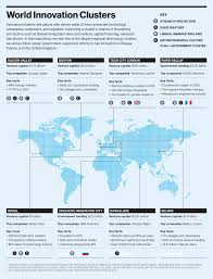 Where Is Paris In World Map by Infographic The World U0027s Technology Hubs Mit Technology Review