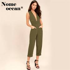 green jumpsuit cut out backless jumpsuits somedays lovin lake olive green