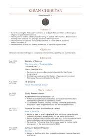 research intern research resume exles exles of resumes