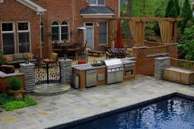 Amazing Patio Design Ideas With Outdoor Barbecue Style Motivation - Backyard bbq design