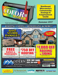 community color mailer fox valley july 2017 by community color