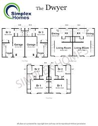 simplex homes dwyer duplex modular home