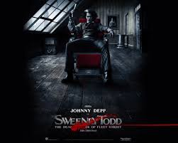 halloween the movie background johnny depp as sweeney todd scary movie actor character halloween