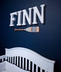 Nautical Nursery Wall Decor by Home Tour Finn U0027s Nautical Nursery
