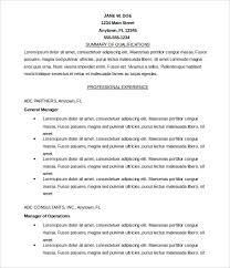 resume format free download in ms word permalink to 20 free