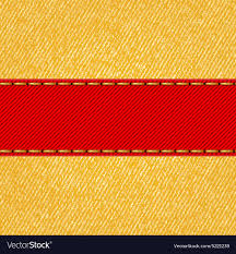 ribbon fabric fabric texture with label ribbon royalty free vector image