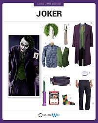 dress like the joker diy costumes joker and batman