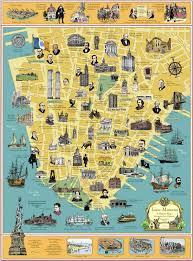 Manhattan Neighborhoods Map Walking Map Of Manhattan