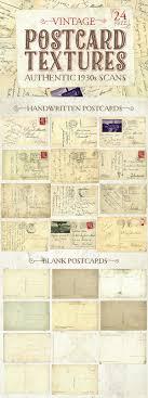 picture postcards free authentic 1930s vintage postcard textures