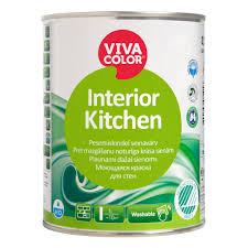 interior of kitchen plaunami vandeniniai akriliniai dažai vivacolor interior kitchen