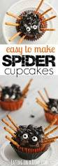 Halloween Spider Cakes by Easy Spider Cupcakes Eating On A Dime