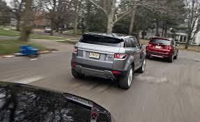 q5 vs bmw x3 bmw x3 tops q5 and evoque in car and driver comparison