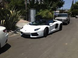 first lamborghini neighbor just moved in across the street with this car turns out