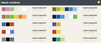 color combos colorcombos quickly select and test color combinations web