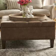 Leather Ottoman Coffee Table Rectangle Rectangle Ottoman Coffee Table Living Rectangle Leather Ottoman