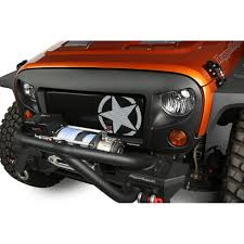 jeep army star jeep grille inserts u0026 accesories by rugged ridge