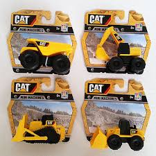 construction cake toppers cat mini machines 4 toys construction equipment vehicle work